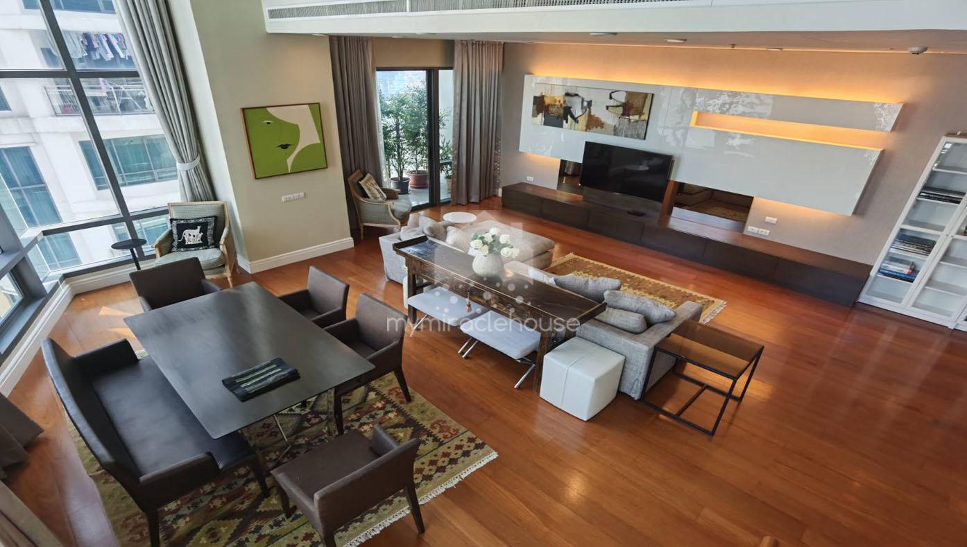 Duplex 3 bedrooms for rent in Bright Sukhumvit Phrom Phong